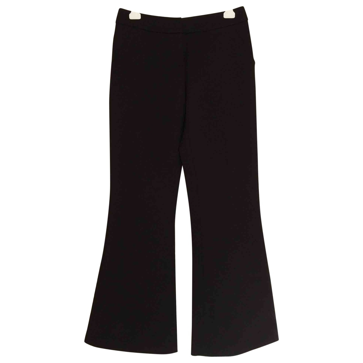 Givenchy \N Black Wool Trousers for Women 40 FR