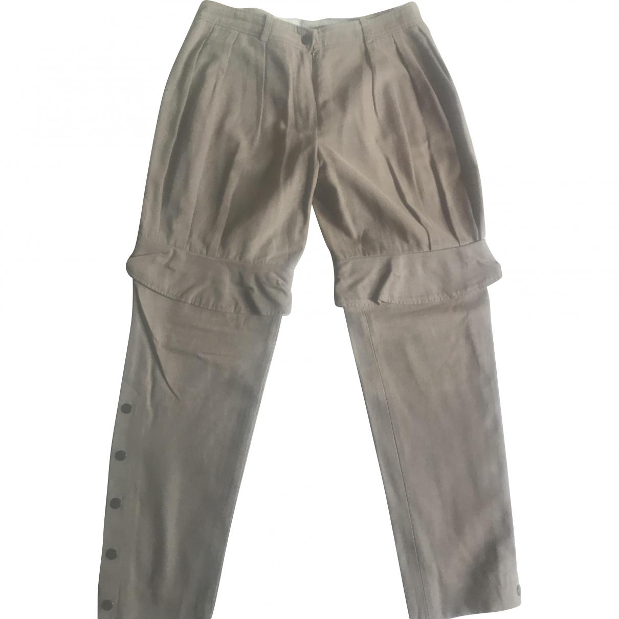 Givenchy - Pantalon   pour femme en coton - kaki
