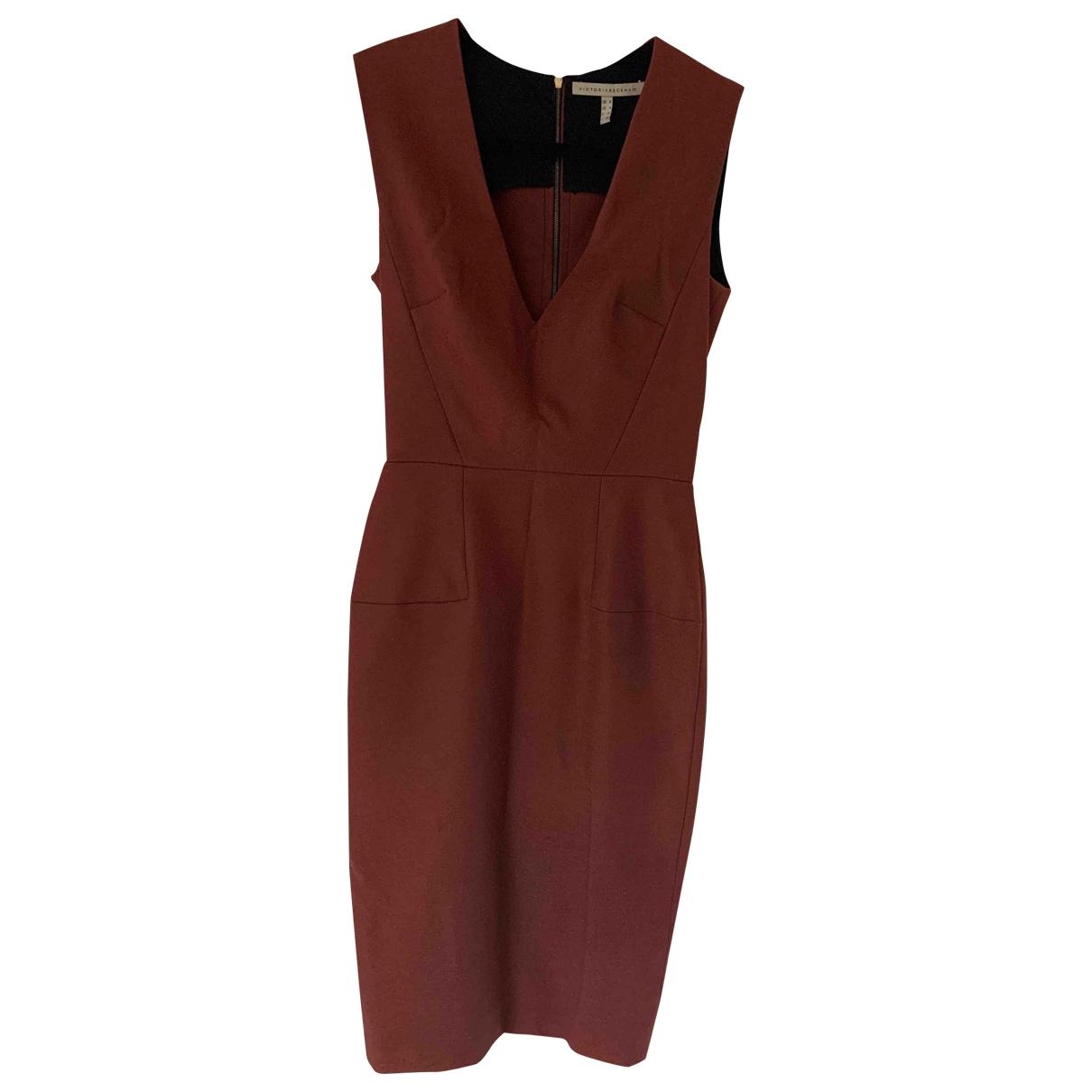 Victoria Beckham \N Cotton - elasthane dress for Women 36 FR