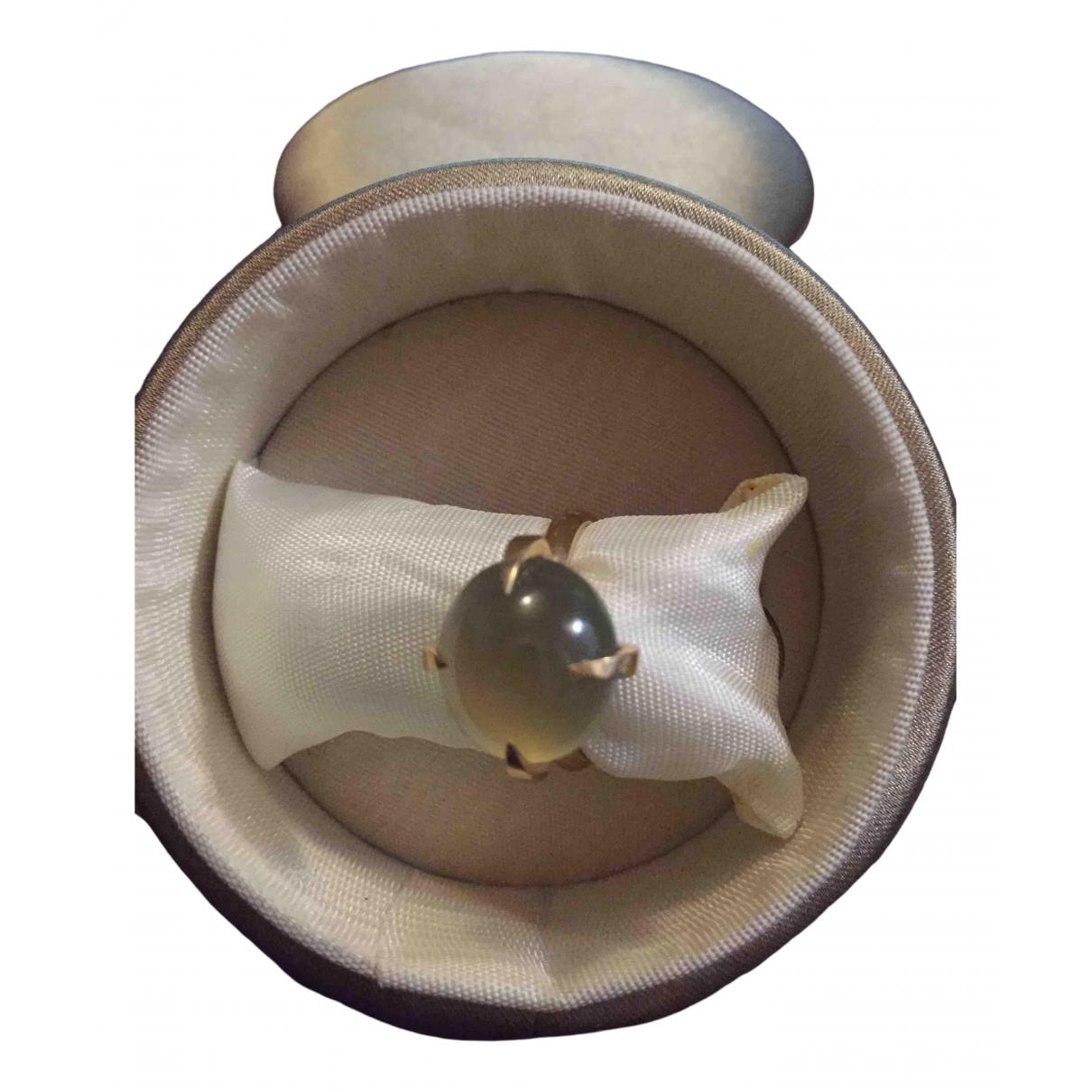 Pomellato - Bague Veleno pour femme en or rose - vert