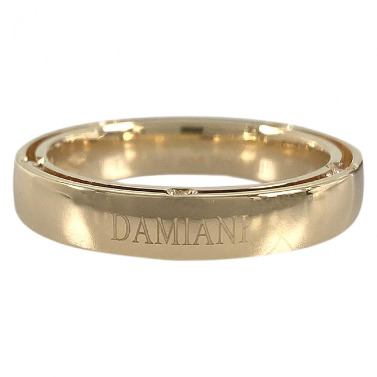 Damiani - Bague   pour femme en or jaune - dore