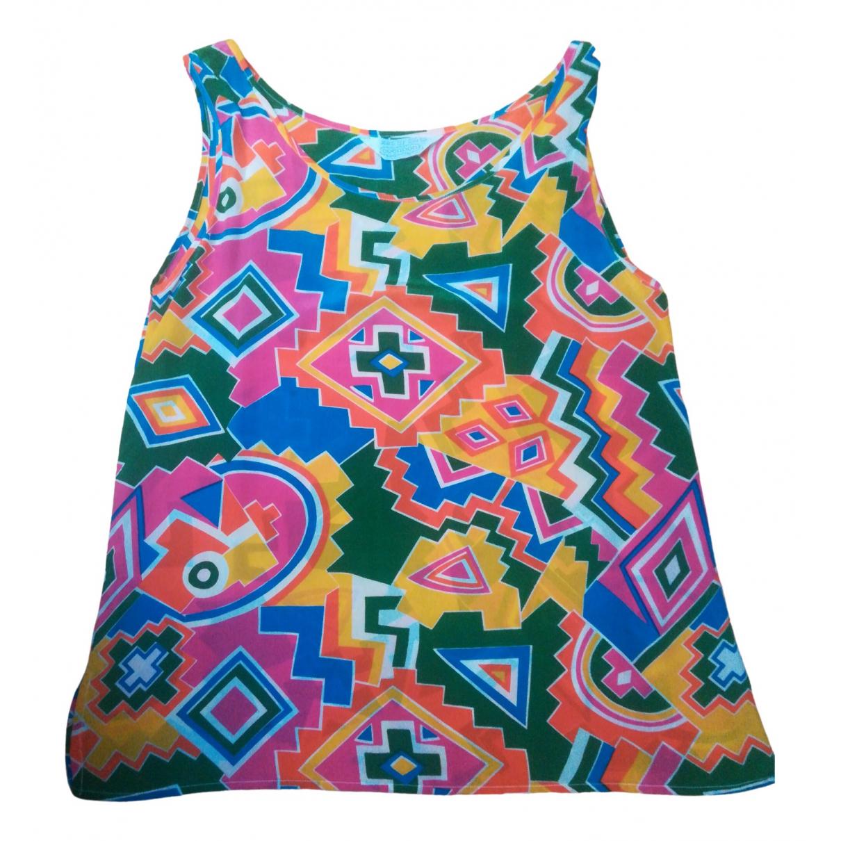 Non Signé / Unsigned \N Multicolour Silk  top for Women 44 IT