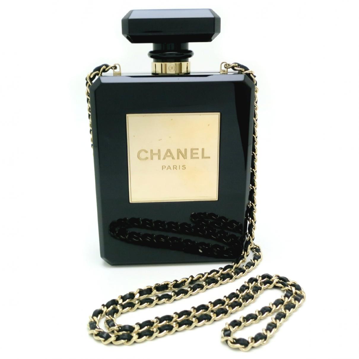 Chanel \N Handtasche in  Schwarz Kunststoff