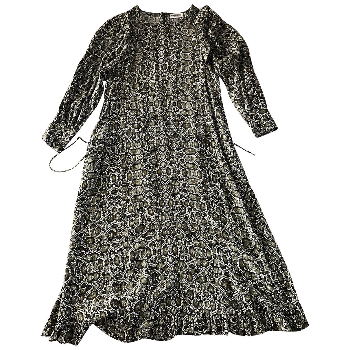 Essentiel Antwerp \N Kleid in  Bunt Viskose