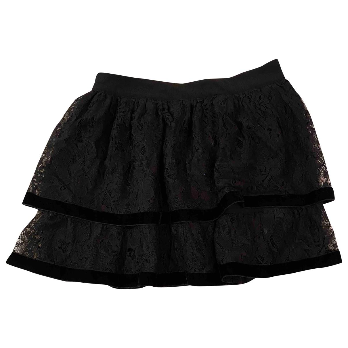Sandro \N Black skirt for Women 1 0-5