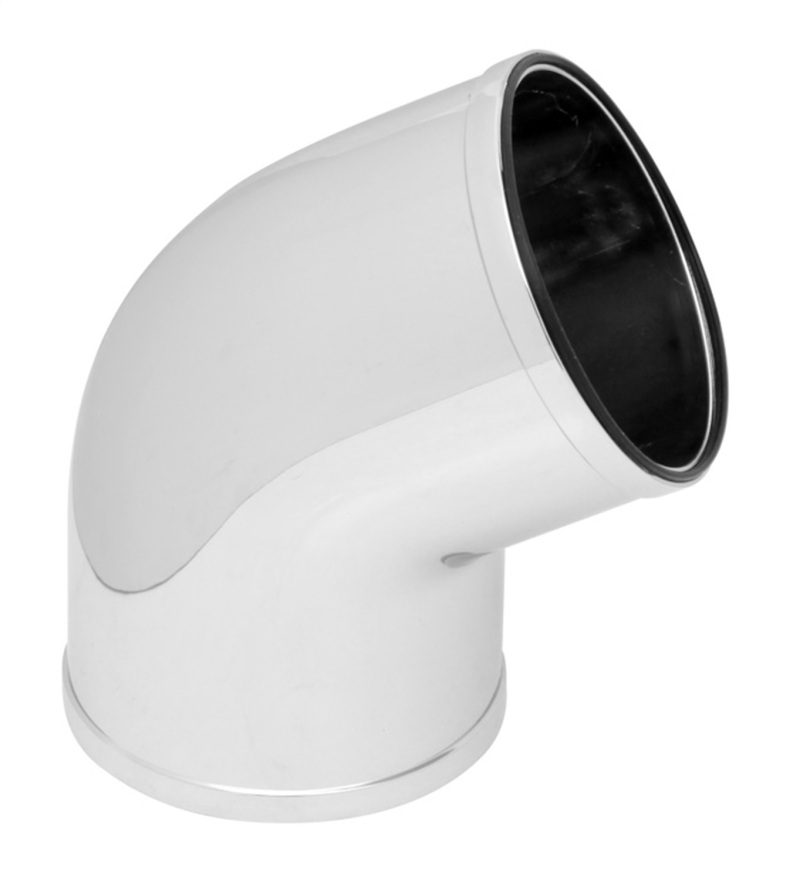 Spectre 86681 Universal Intake Elbow Tube (ABS) 3in. OD / 60 Degree - Chrome