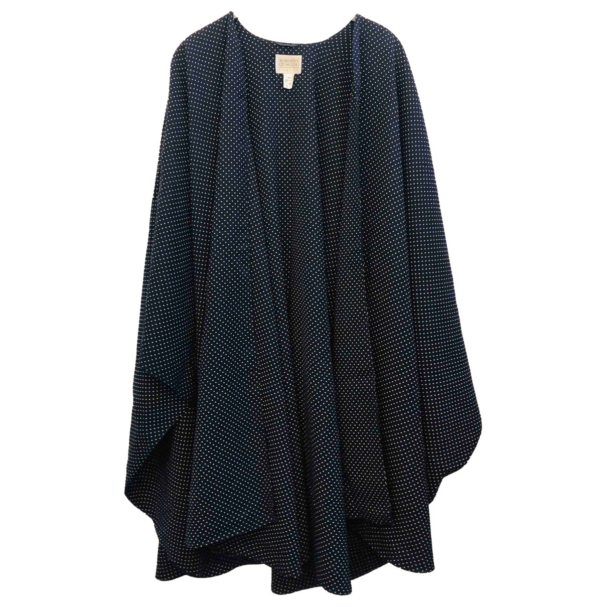 Non Signé / Unsigned \N Navy Wool jacket for Women L International