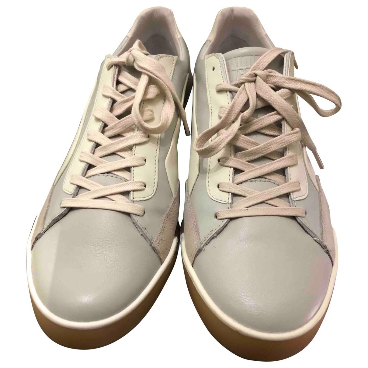 Alexander Mcqueen For Puma \N Sneakers in  Grau Leder