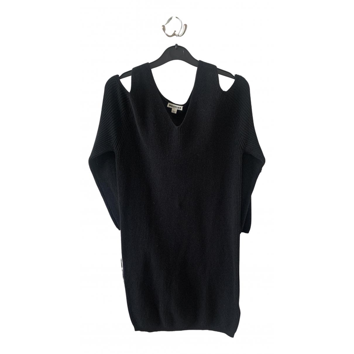 Whistles \N Kleid in  Schwarz Wolle
