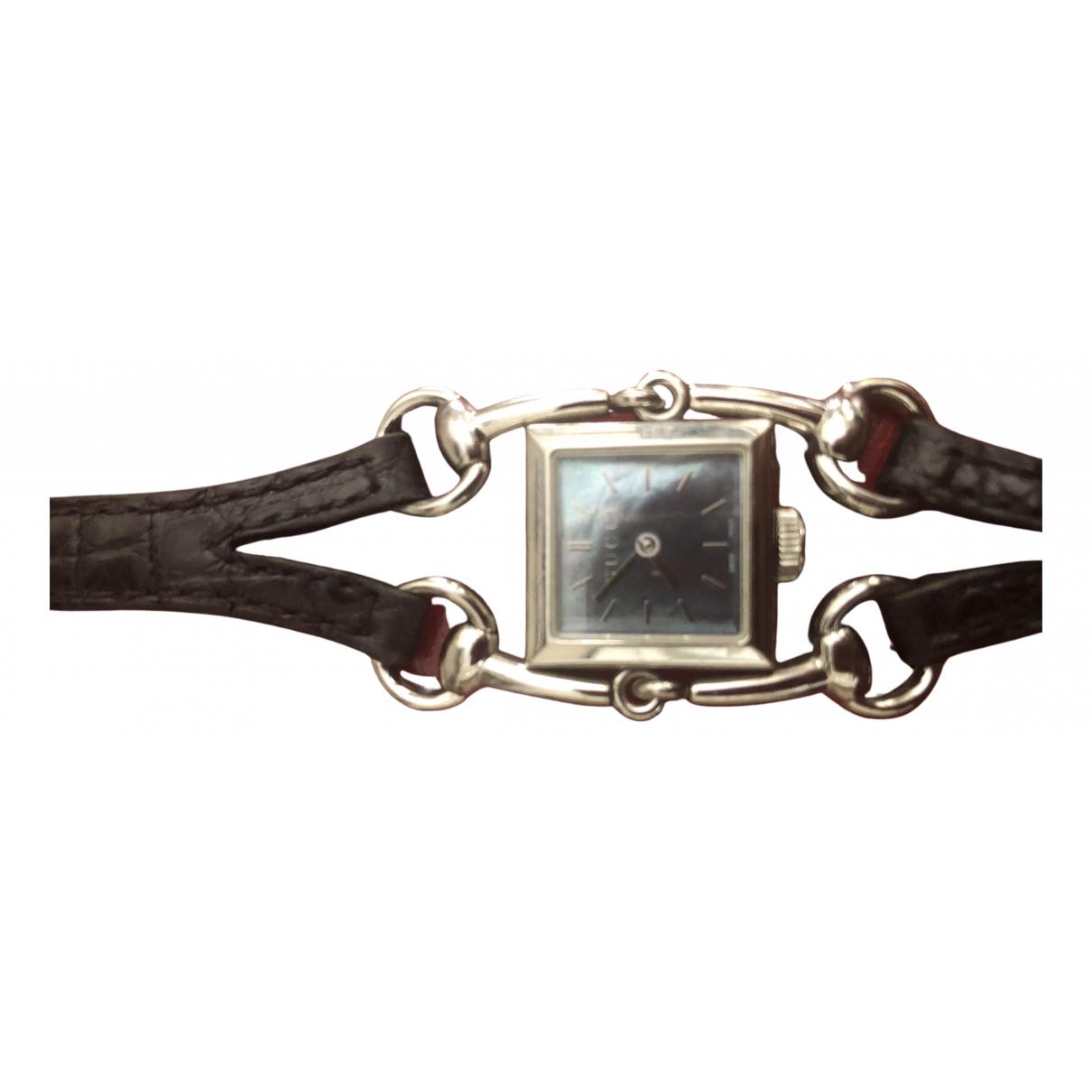 Gucci Signora Black Steel watch for Women \N