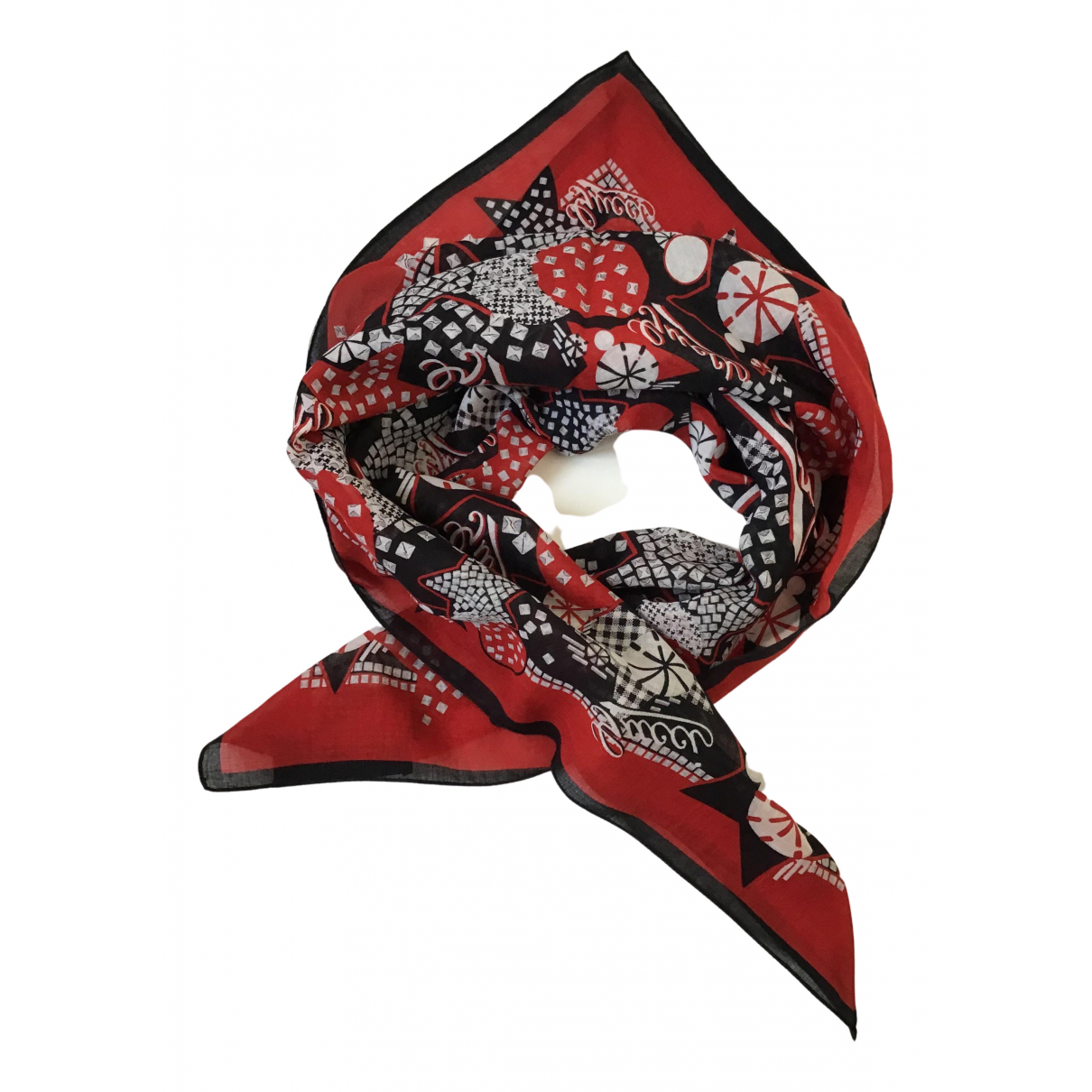 Gucci N Red Cotton scarf for Women N