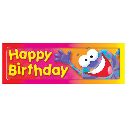 Happy Birthday Frog-Tastic® Bookmarks, 36 Per Pack, 12 Packs By Trend | Michaels®