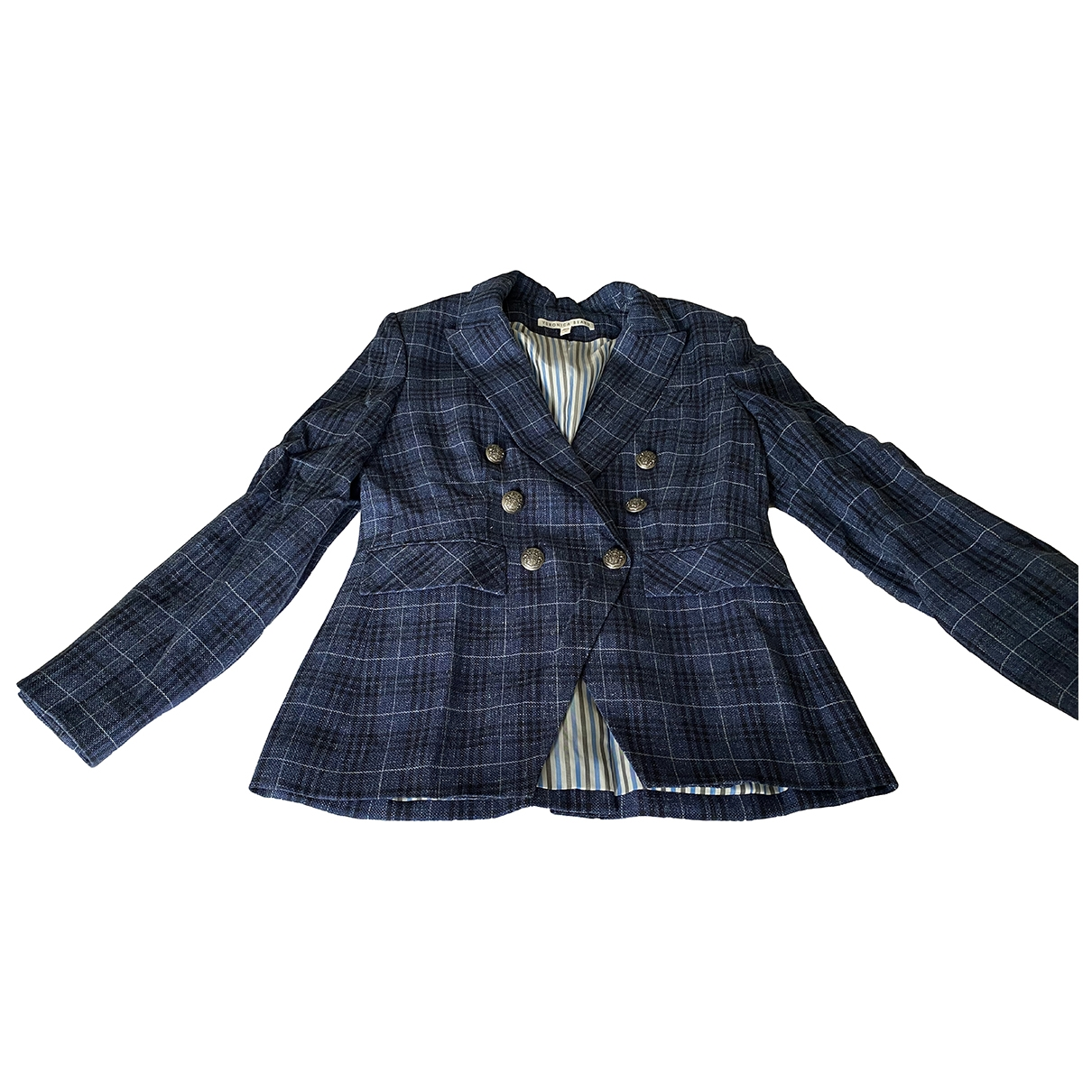 Veronica Beard \N Blue Wool jacket for Women 12 US