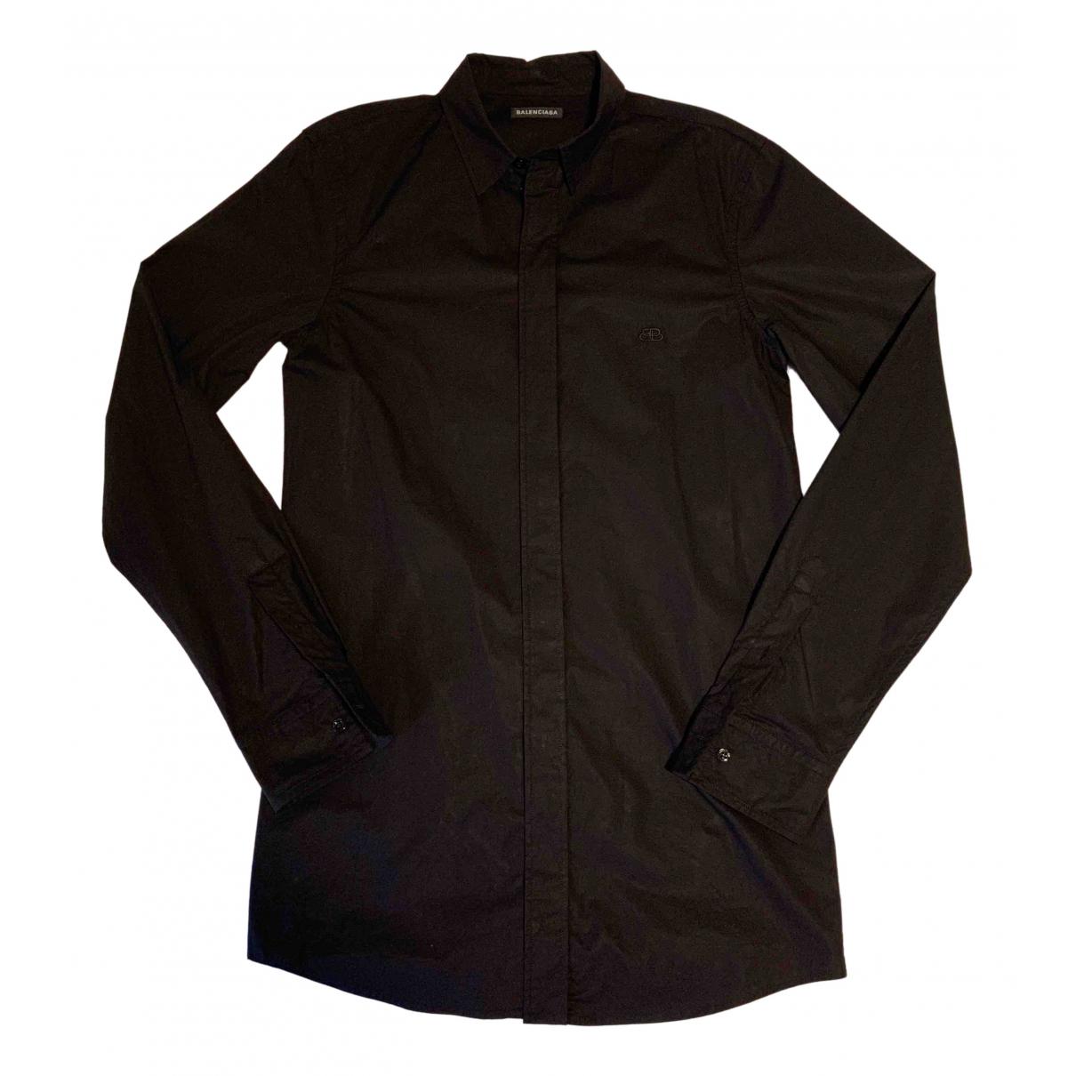 Balenciaga - Chemises   pour homme - noir