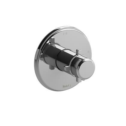 Momenti TMMRD23+C 2-Way Thermostatic/Pressure Balance Coaxial Valve Trim with + Cross Handles  in