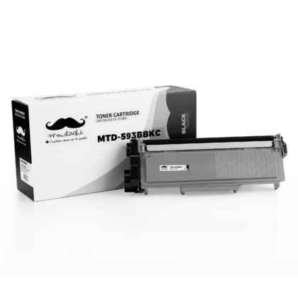 Dell CVXGF 593-BBKC 2RMPM cartouche de toner compatible noire - Moustache�