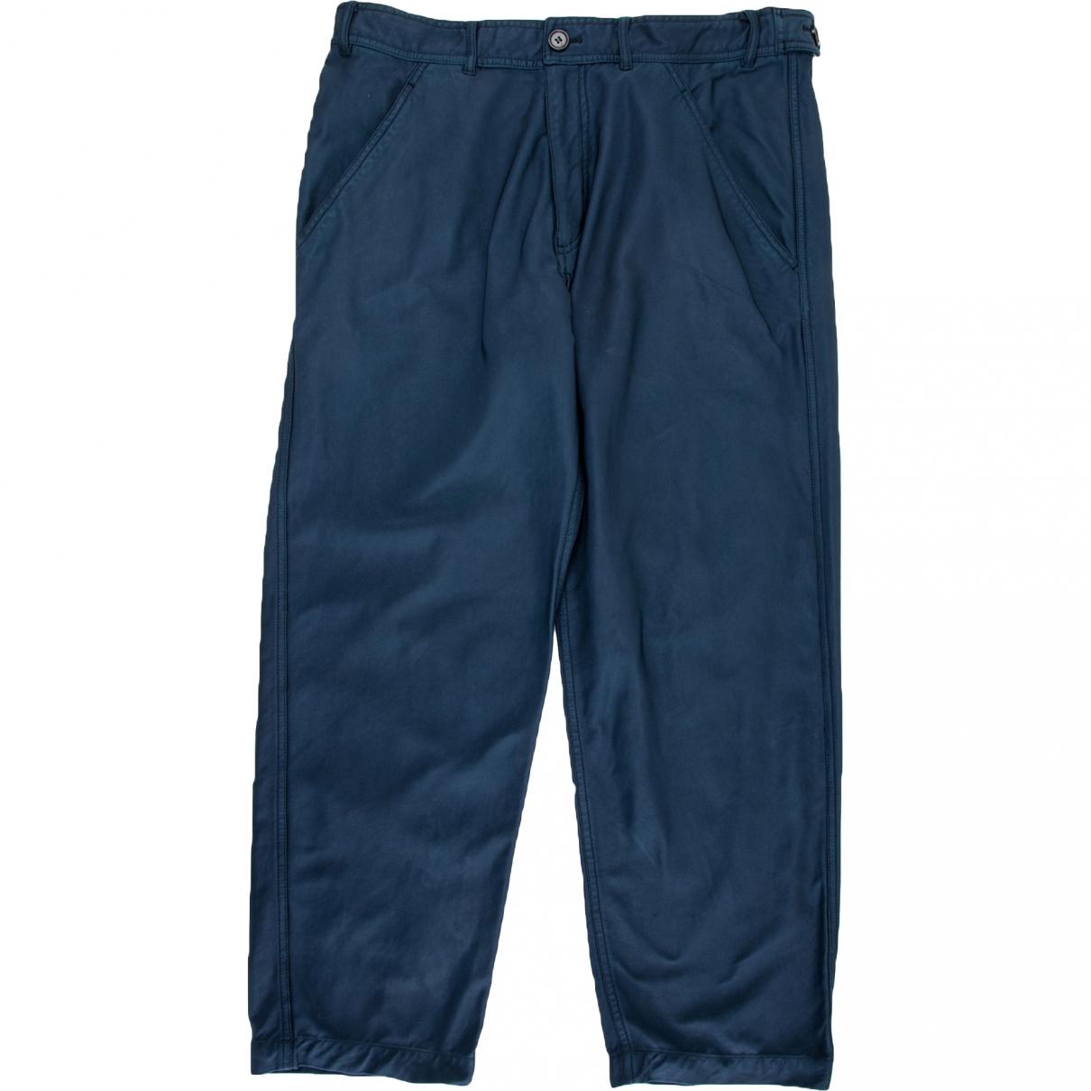 Comme Des Garcons N Blue Trousers for Men S International
