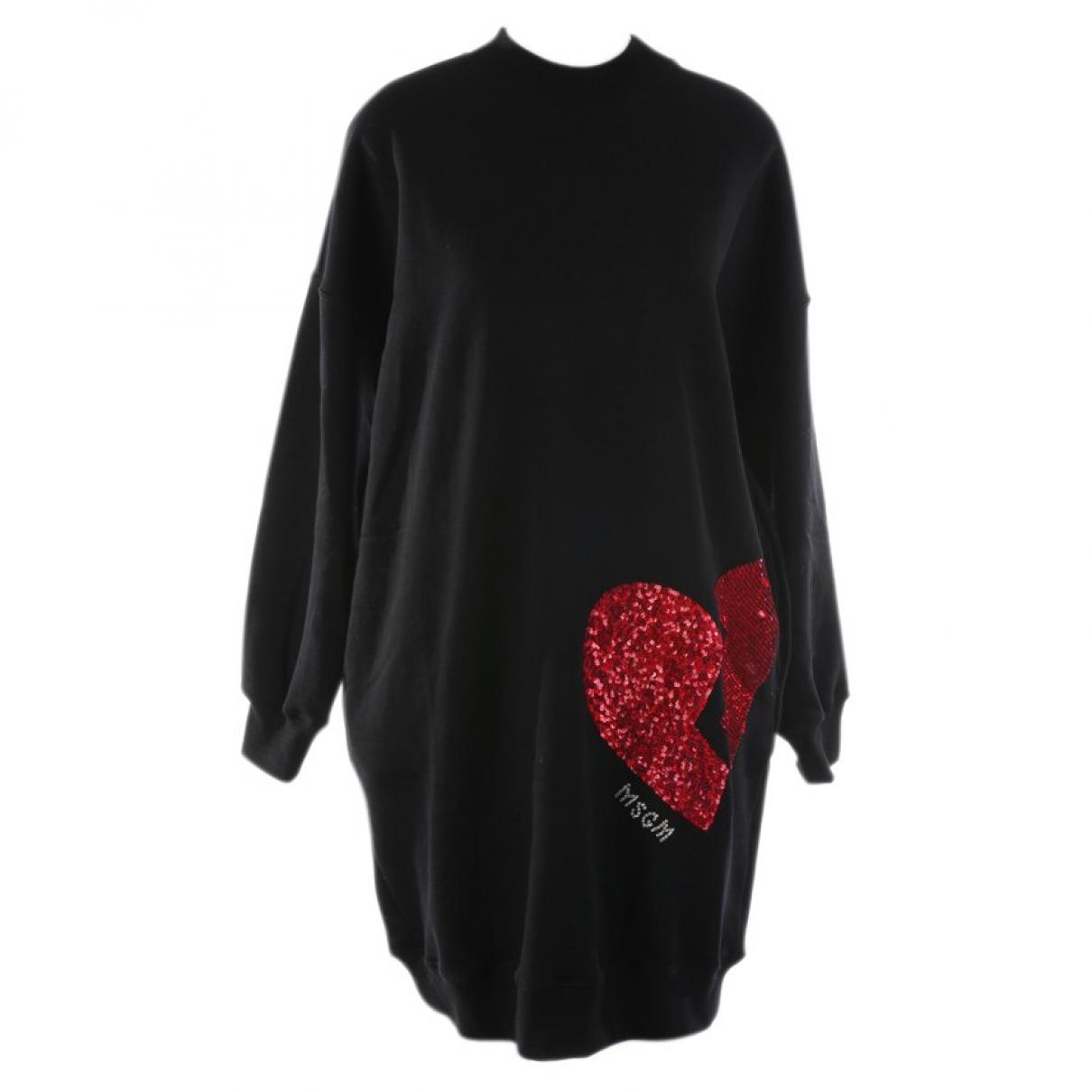 Msgm \N Black Cotton Knitwear for Women XS International
