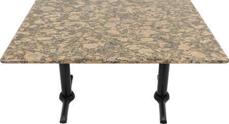 G217 30X42-B10-0522J 30x42 Giallo Fiorito Granite Tabletop with 5