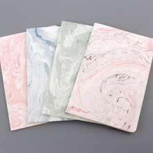 1 Stueck Zufaelliges Notizbuch mit Marmor Muster