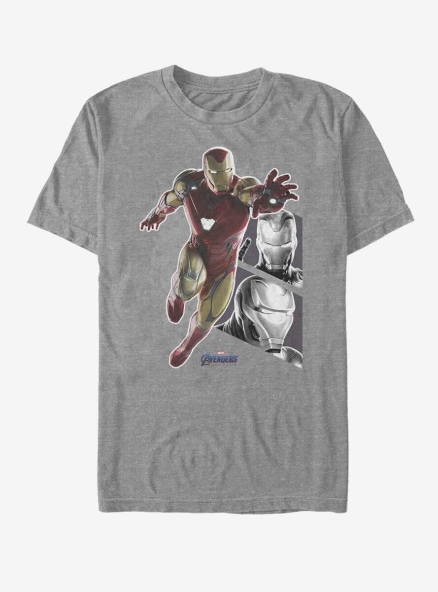 Marvel Avengers: Endgame Iron Man Panels T-Shirt