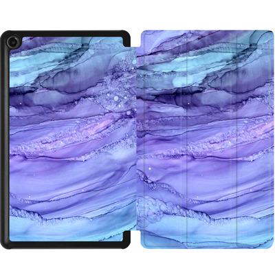 Amazon Fire 7 (2017) Tablet Smart Case - Mermaid Marble von Becky Starsmore