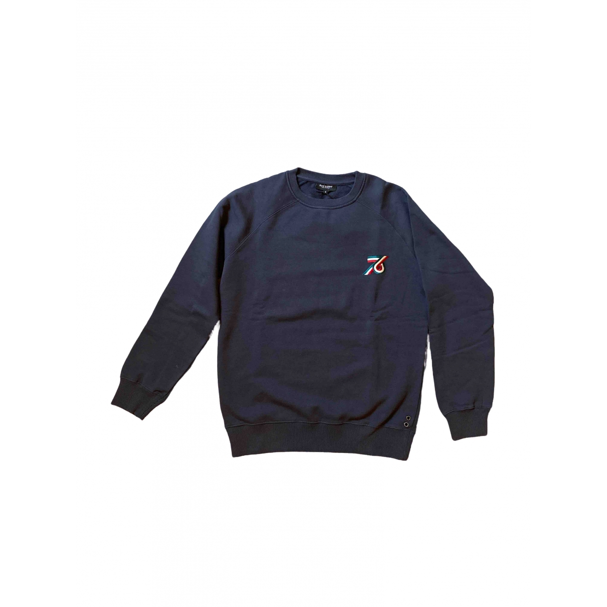 Ron Dorff \N Navy Cotton Knitwear & Sweatshirts for Men S International
