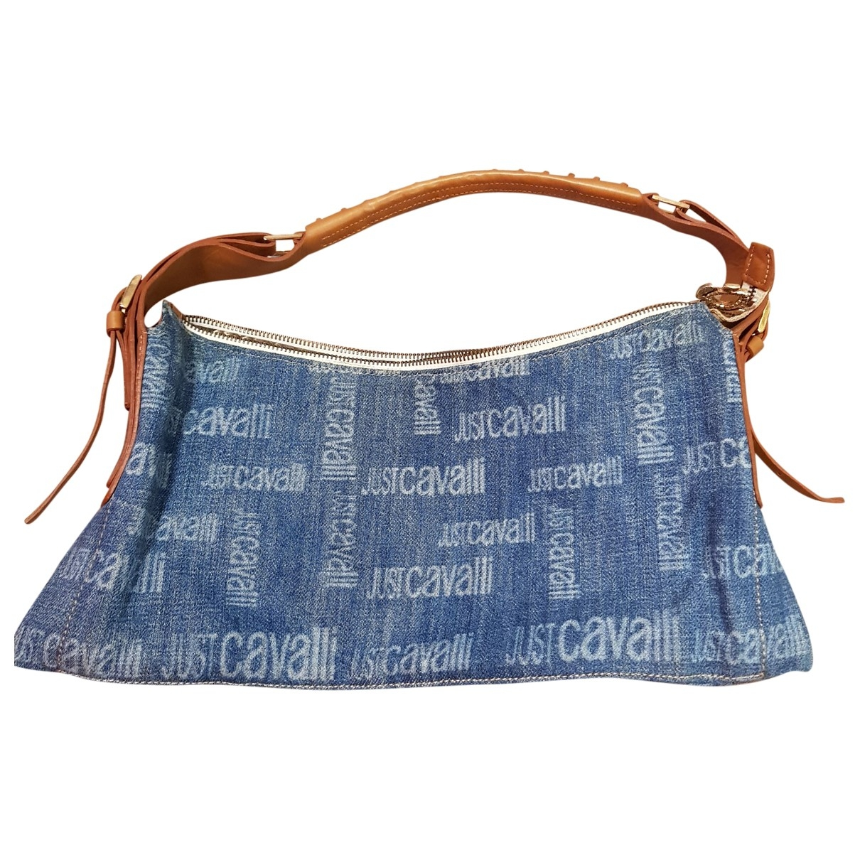 Just Cavalli - Sac a main   pour femme en denim - bleu