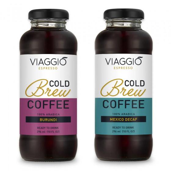 "Kalt gebruehter Kaffee Viaggio Espresso ""Cold Brew Burundi + Mexico Decaffeinato"", 592 ml"
