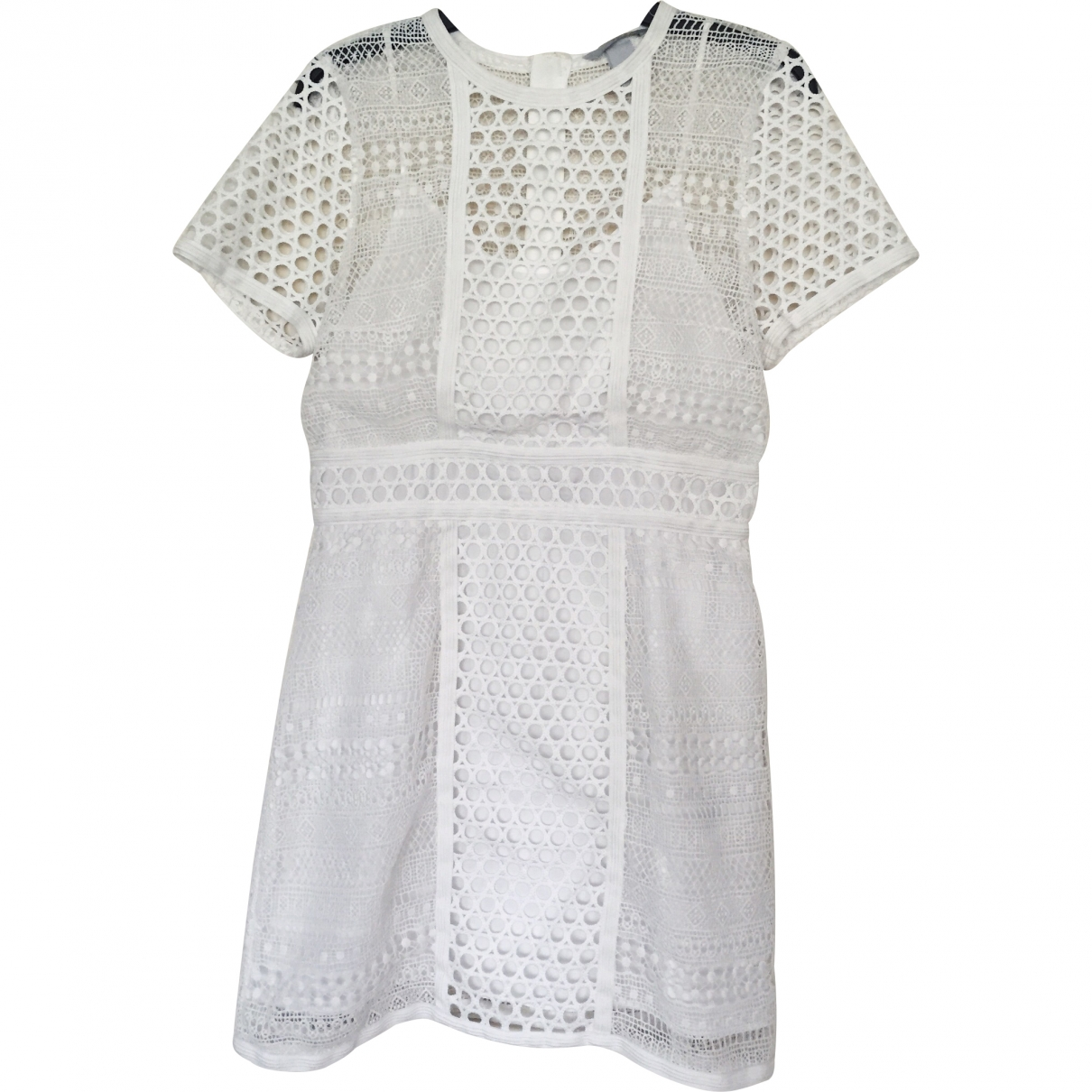 Non Signé / Unsigned \N White dress for Women 12 US
