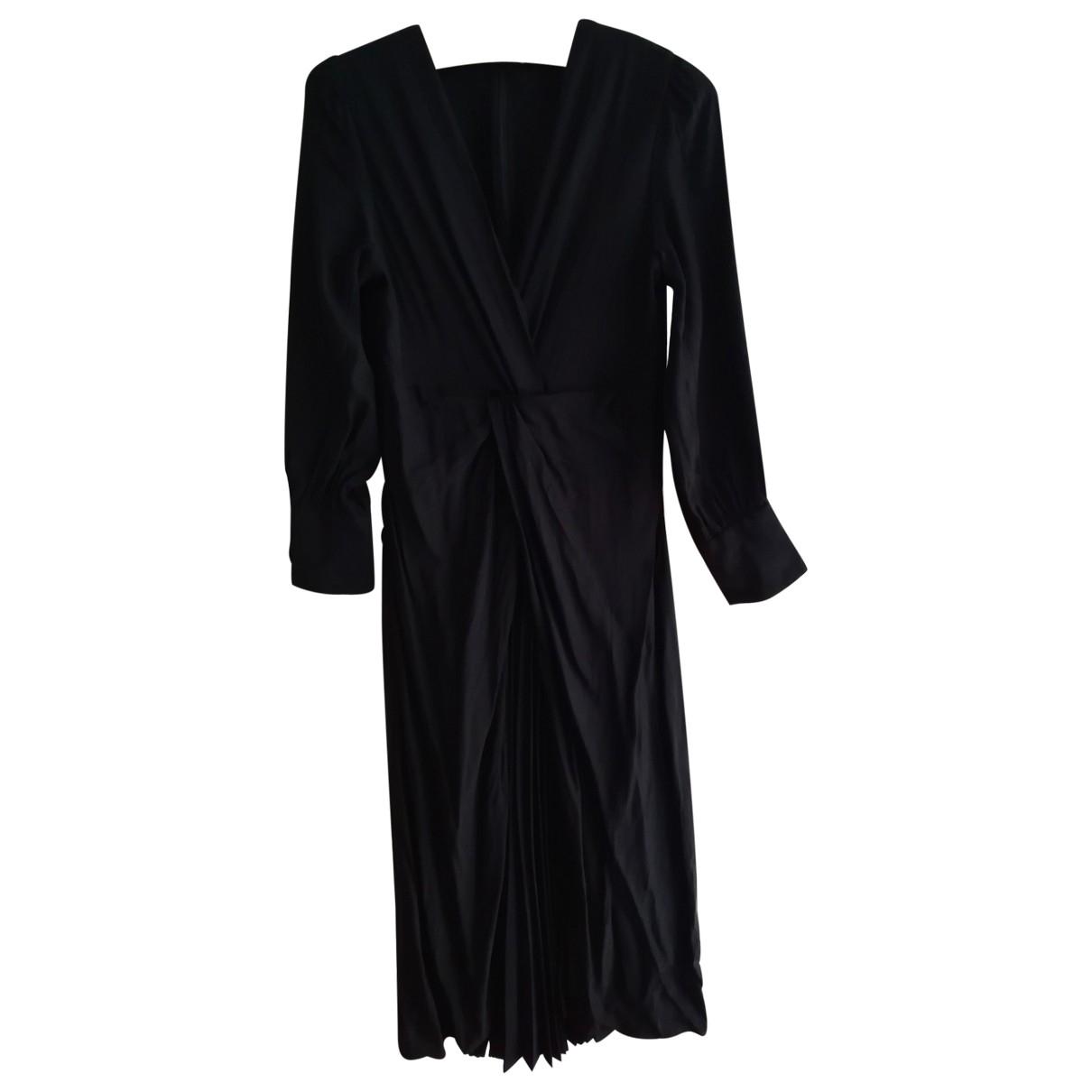 Sandro Fall Winter 2019 Black dress for Women 34 FR