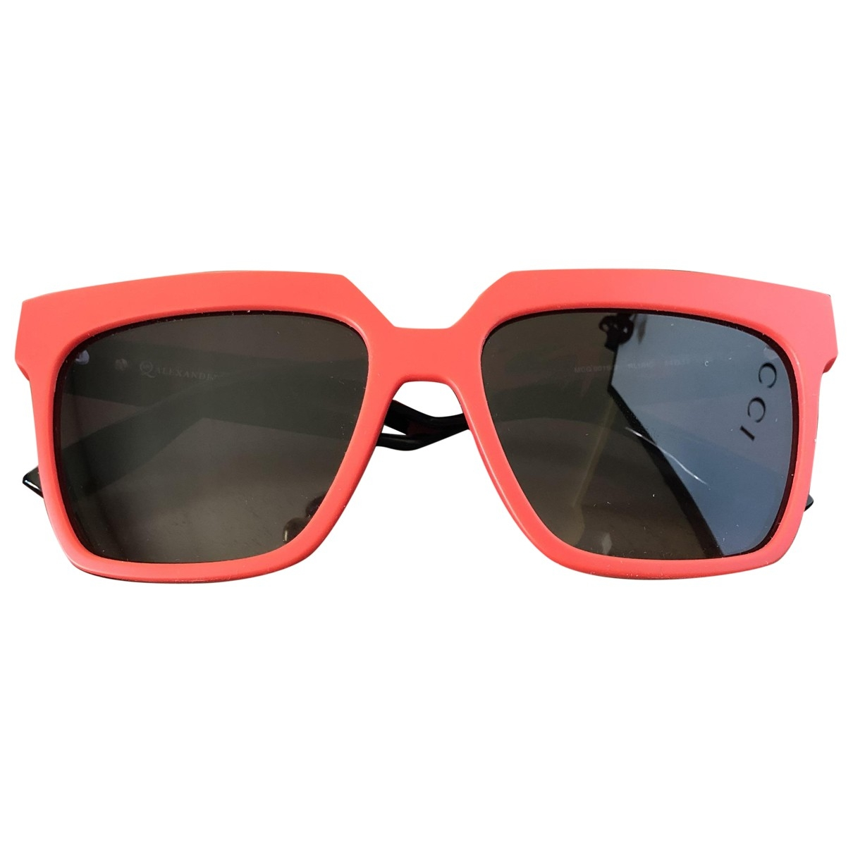 Mcq \N Red Sunglasses for Women \N