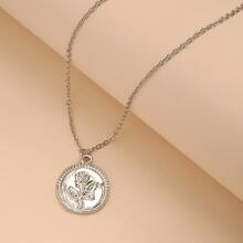 Round Charm Necklace