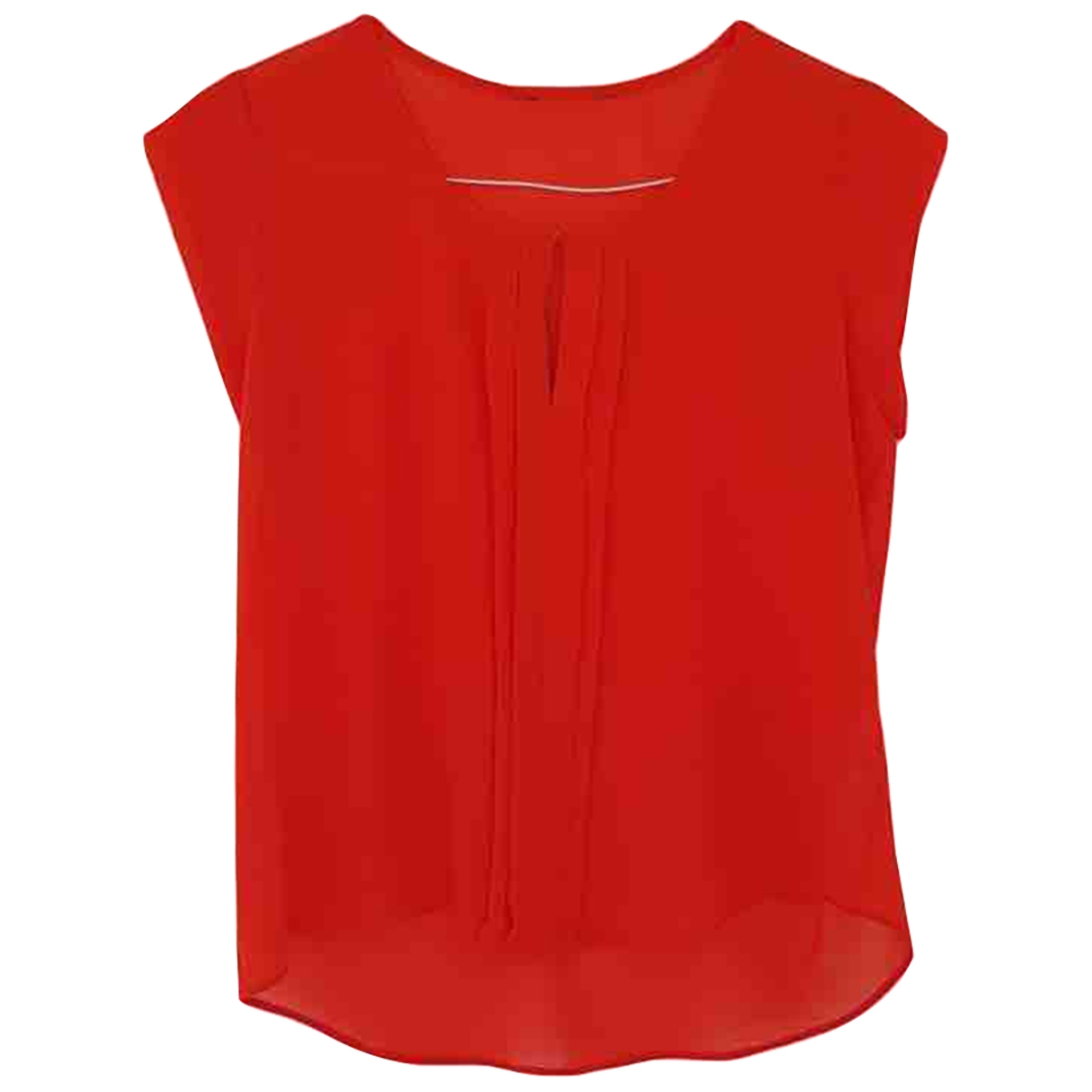 Non Signé / Unsigned \N Red  top for Women 12 UK