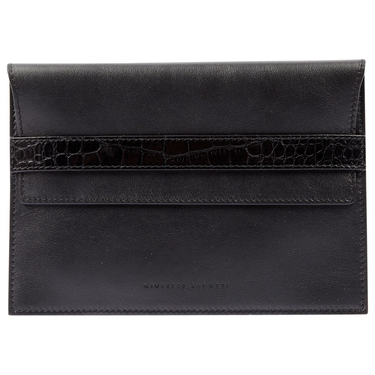 Giuseppe Zanotti \N Black Leather Clutch bag for Women \N