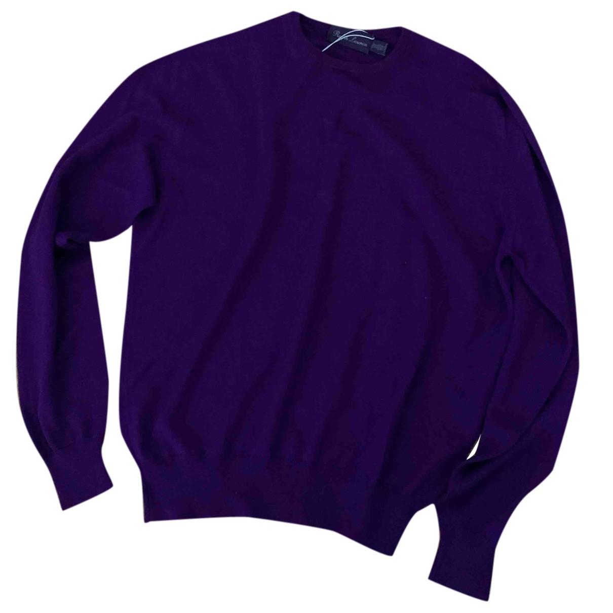 Ralph Lauren Purple Label - Pulls.Gilets.Sweats   pour homme en cachemire - violet