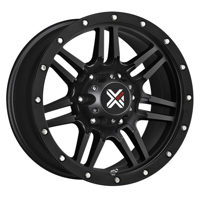 DX4 7S Flat Black Full Painted Wheel 20x9 6x120.0 15