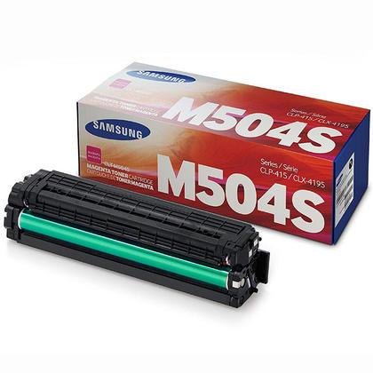 Samsung CLT-M504S Original Magenta Toner Cartridge