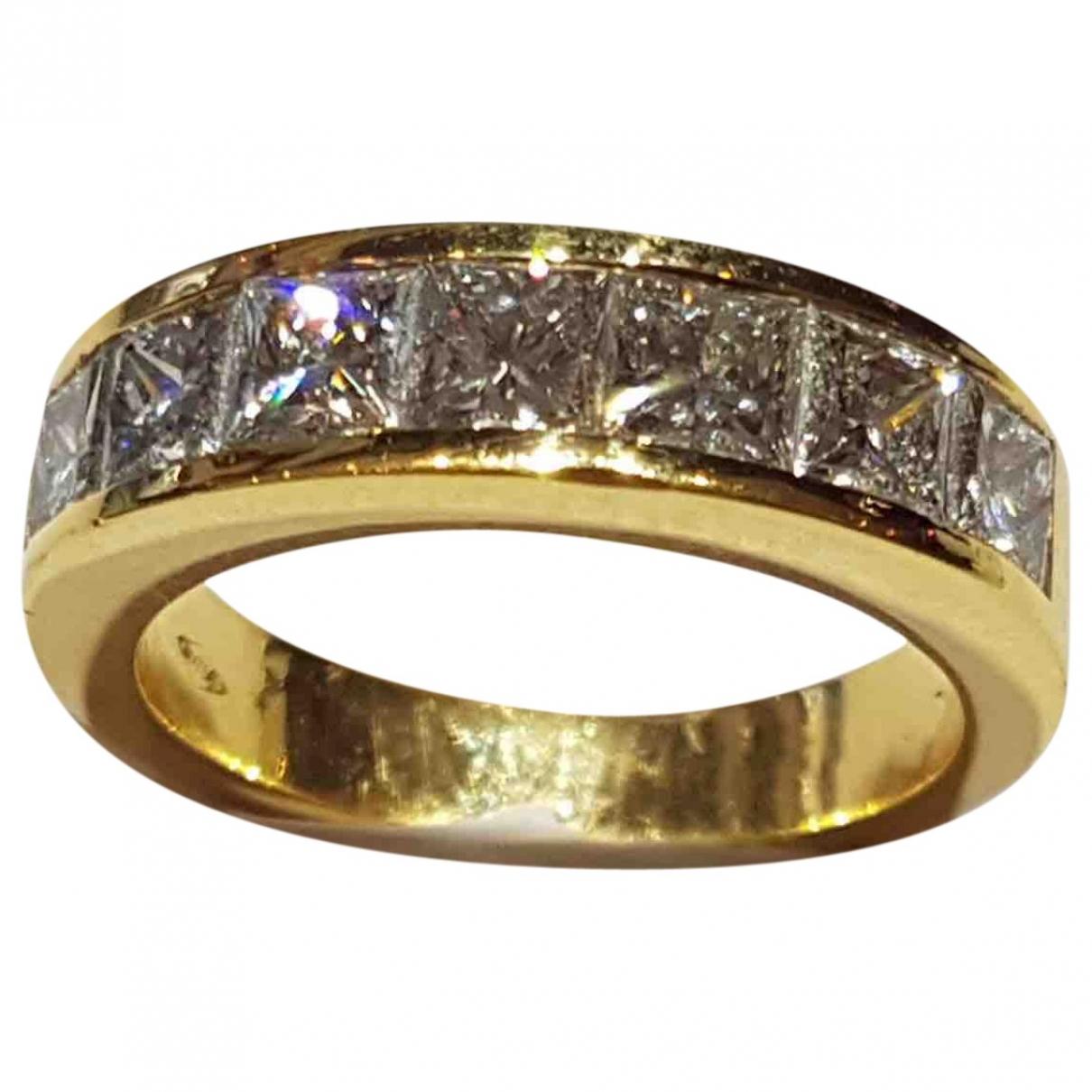 - Bague Alliance pour femme en or jaune - jaune