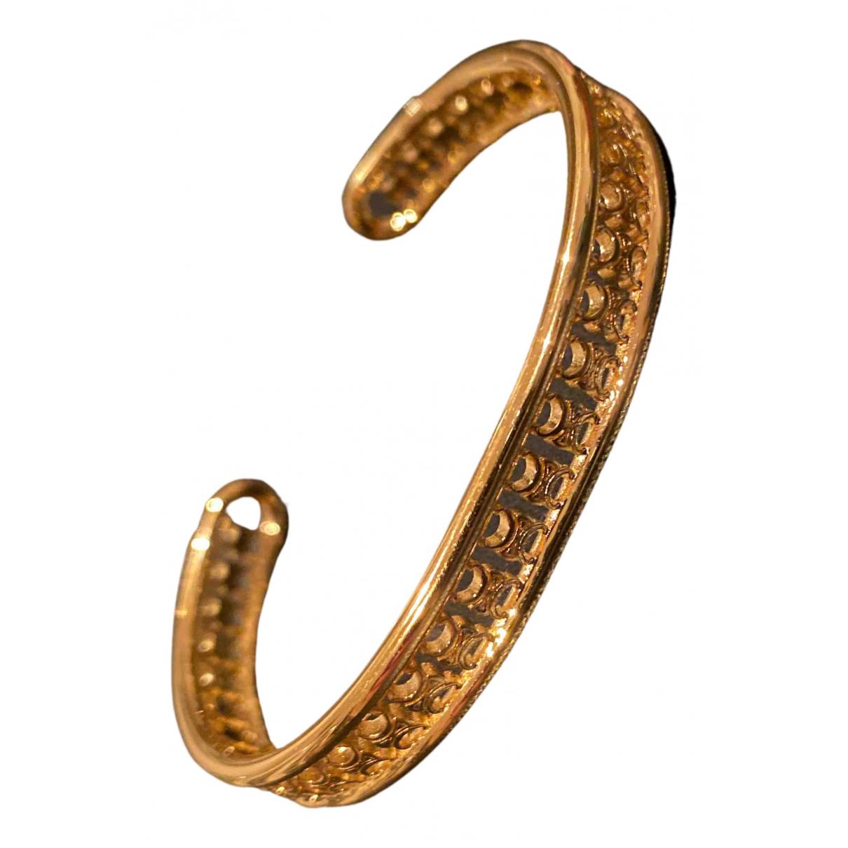 Celine \N Armband in  Gold Vergoldet