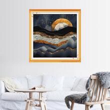 Abstract Sunset Pattern DIY Diamond Painting