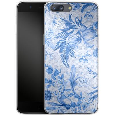 OnePlus 5 Silikon Handyhuelle - Santorini Breeze von Stephanie Breeze