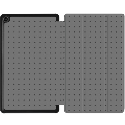 Amazon Fire 7 (2017) Tablet Smart Case - Dot Grid Grey von caseable Designs