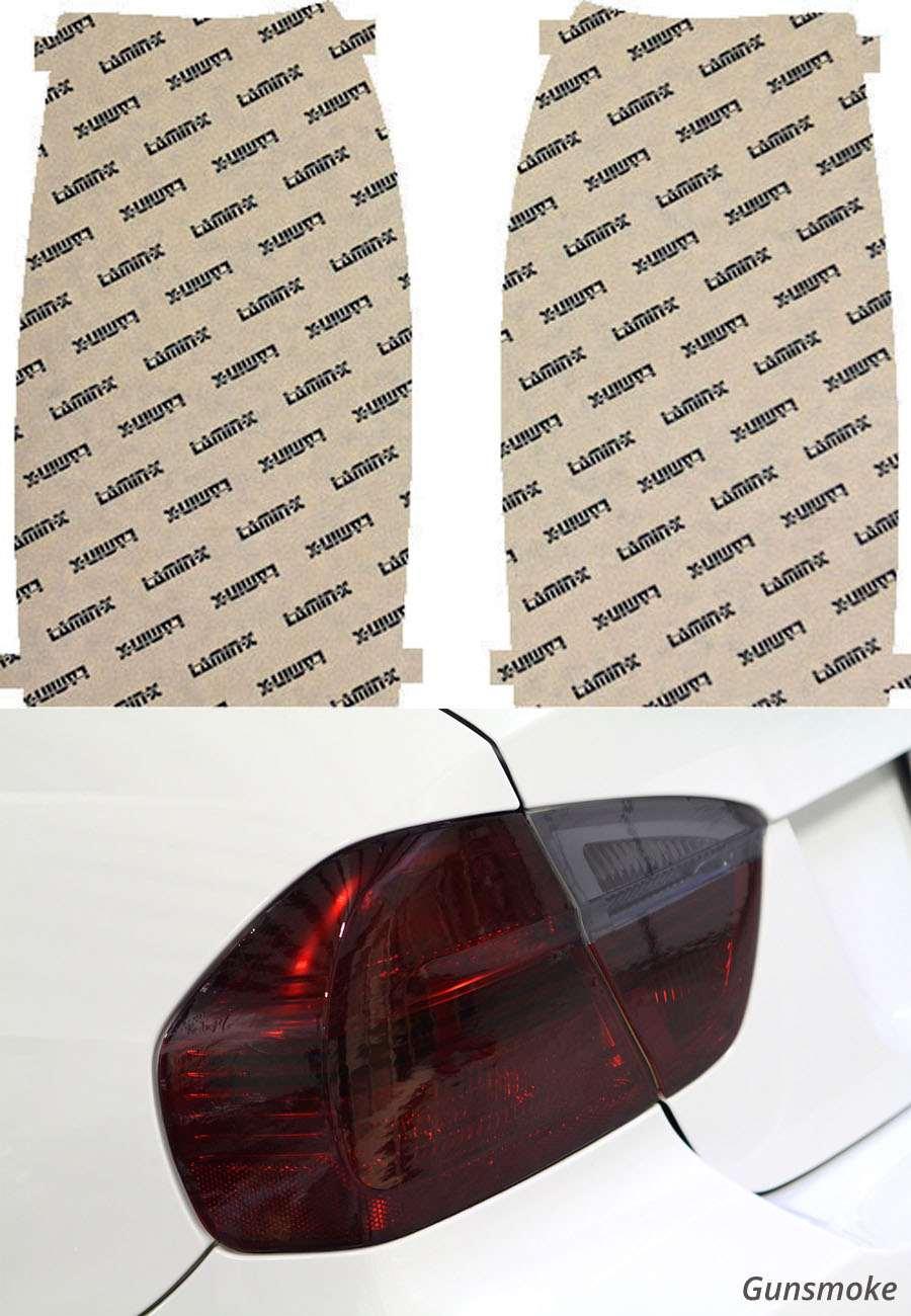 Chevrolet Avalanche 07-13 Gunsmoke Tail Light Covers Lamin-X CH221G