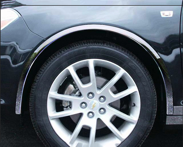 Quality Automotive Accessories 4-Piece Stainless Steel Wheel Well Fender Chevrolet Malibu 2009