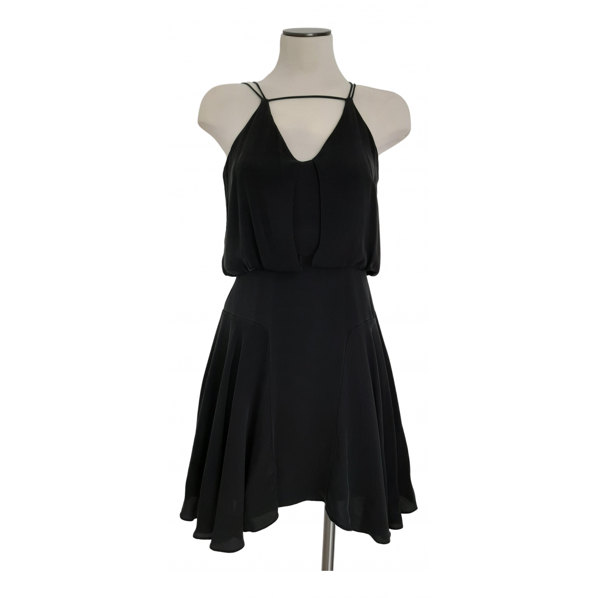 Milly \N Black Silk dress for Women 4 US