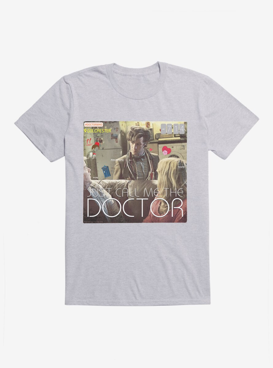 Doctor Who The Eleventh Doctor Call Me The Doctor T-Shirt