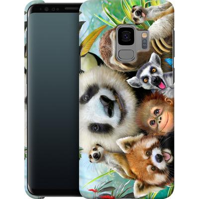 Samsung Galaxy S9 Smartphone Huelle - Zoo Selfie von Howard Robinson