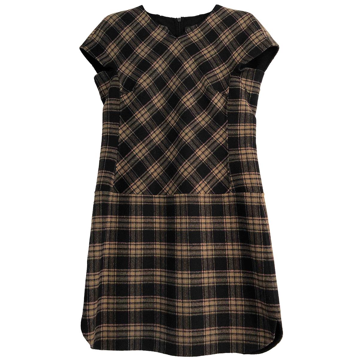 Max Mara Weekend \N Kleid in  Braun Wolle