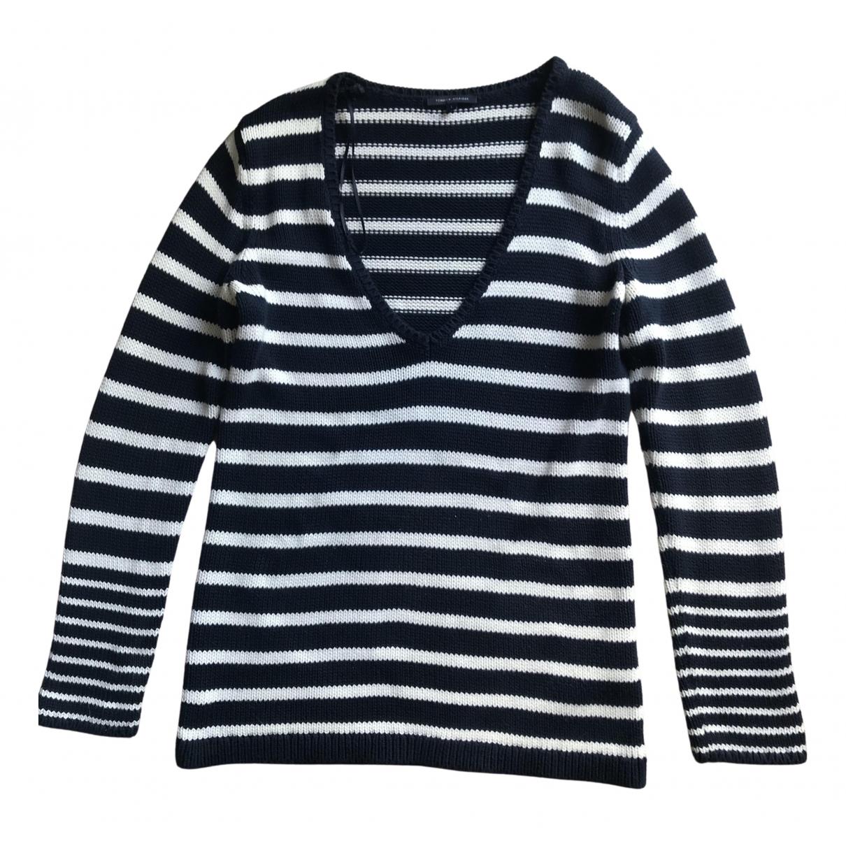 Tommy Hilfiger \N Blue Cotton Knitwear for Women L International